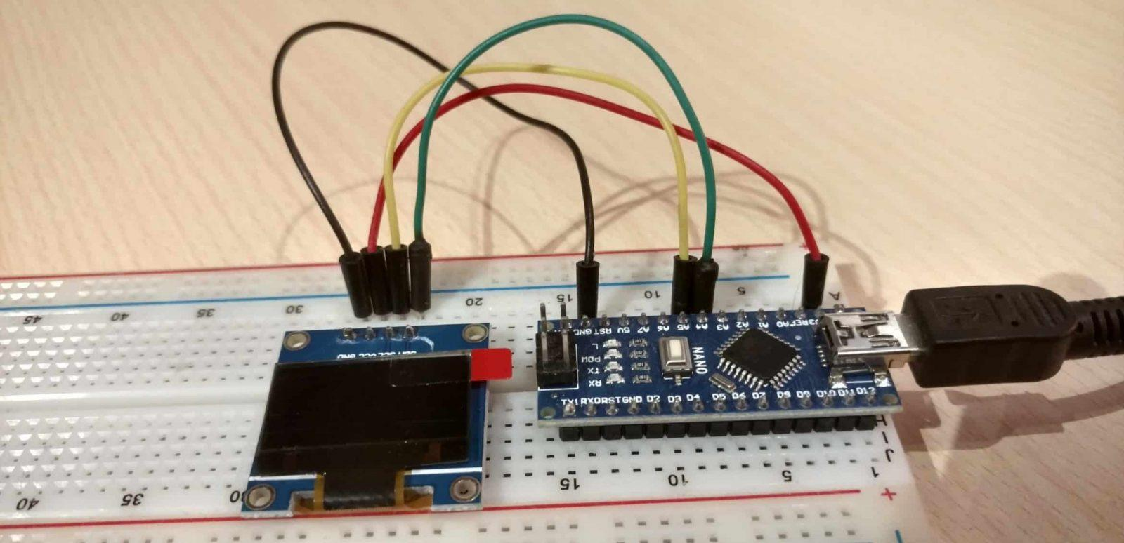 Arduino I2C OLED screen tutorial using U8Glib – The EECS Blog