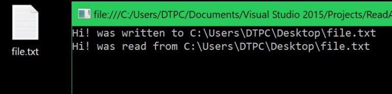 c# reading and writing files resulting output