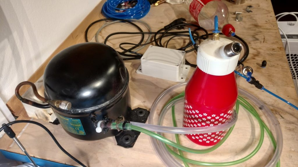 DIY Quiet Air Compressor