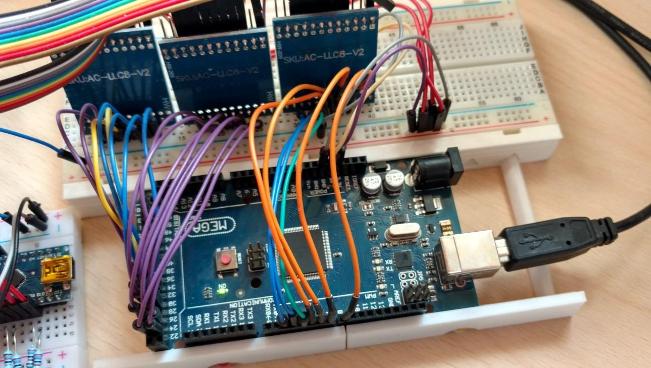 8-bit computer in an FPGA Arduino controller and programmer