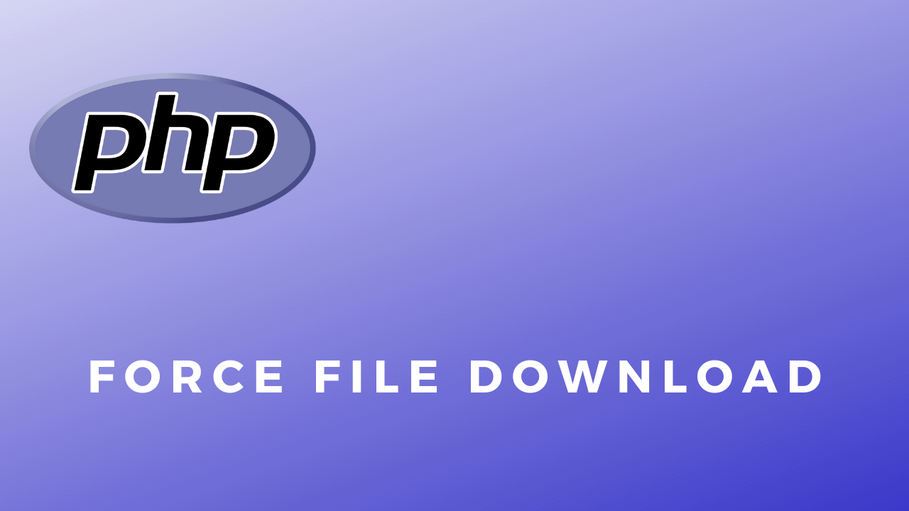 Code Snippets Force File Download